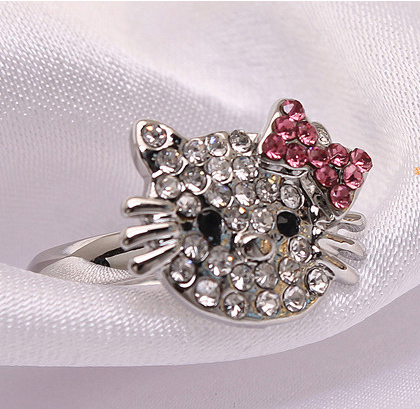 Hello Kitty prsteň
