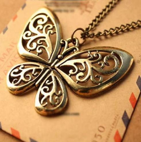 Náhrdelník Motýlik