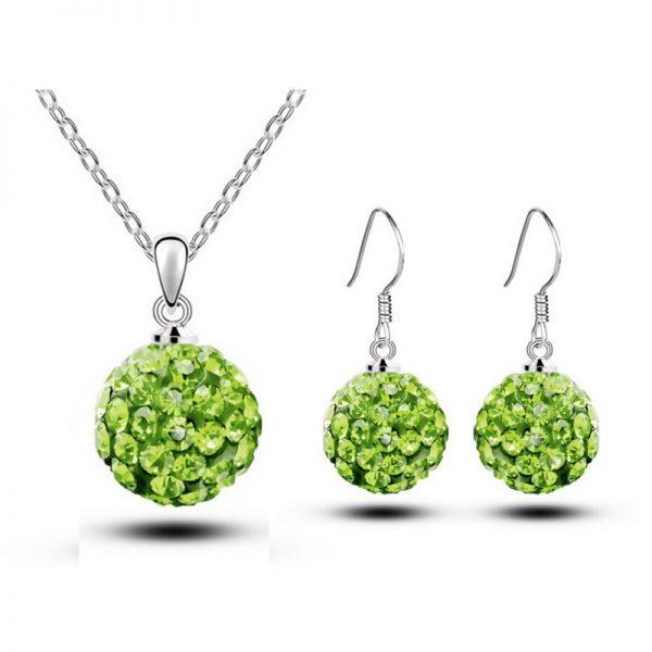 Zelený Set Zoe